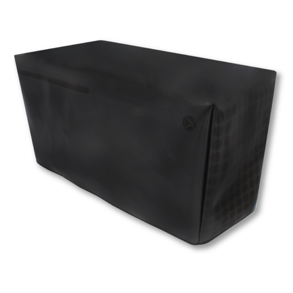 Xbox Series X Black Dust Cover Horizontal Printer Boy